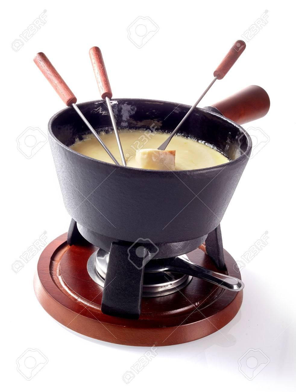 分離 チーズ フォンデュ