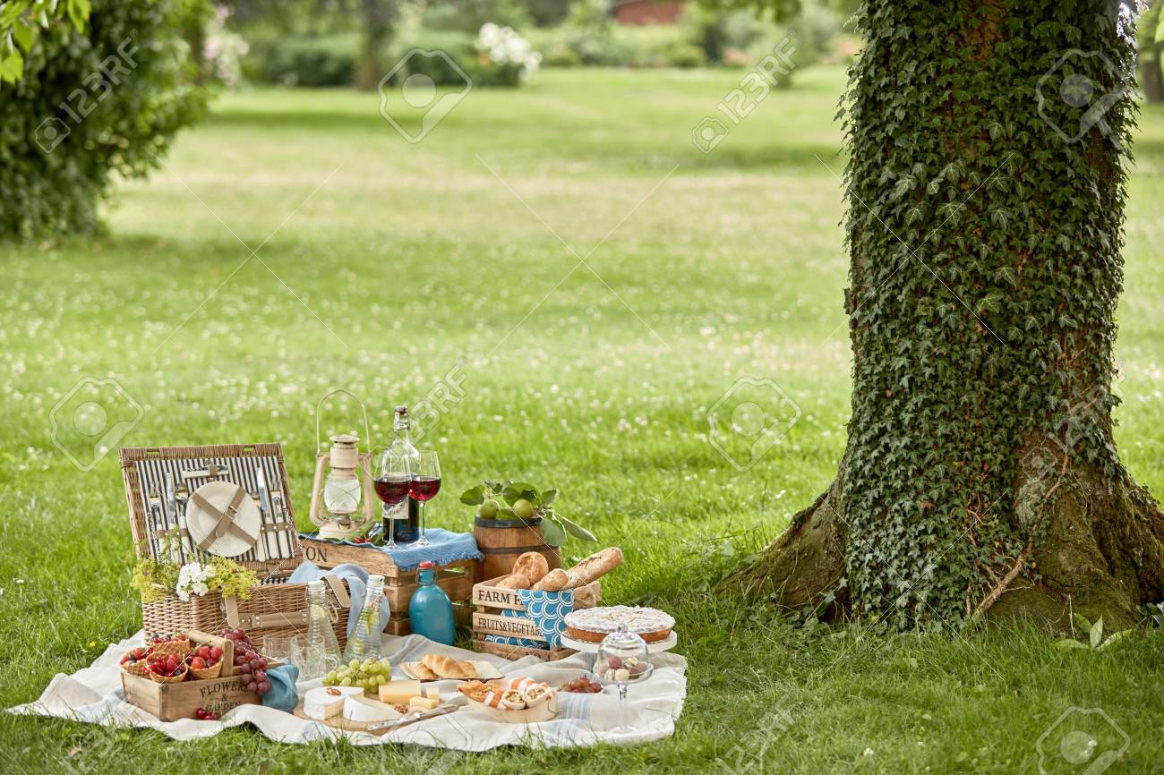 Healthy Outdoor Living With A Tasty Picnic Hamper Lunch Arranged