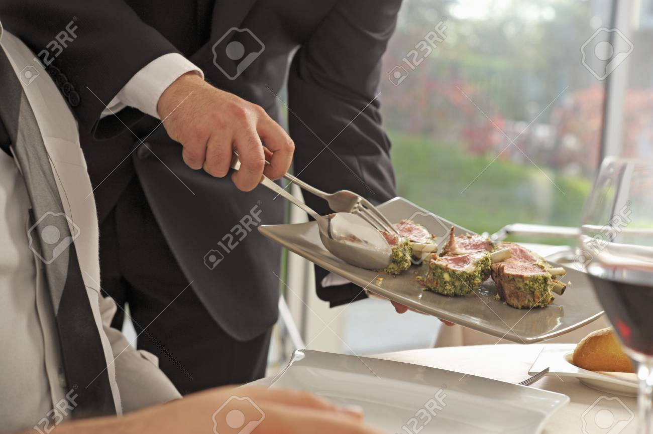 English-style serving Stock Photo - 17028357