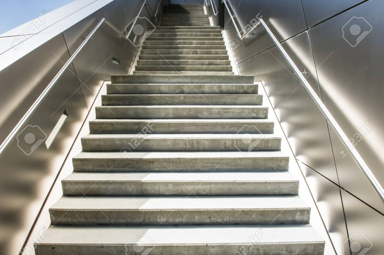 modern staircase - nice background Stock Photo - 17205446