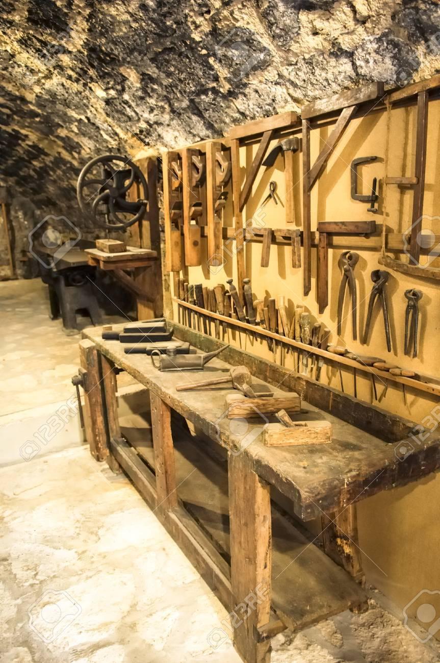 beautiful historic workshop Stock Photo - 17743517