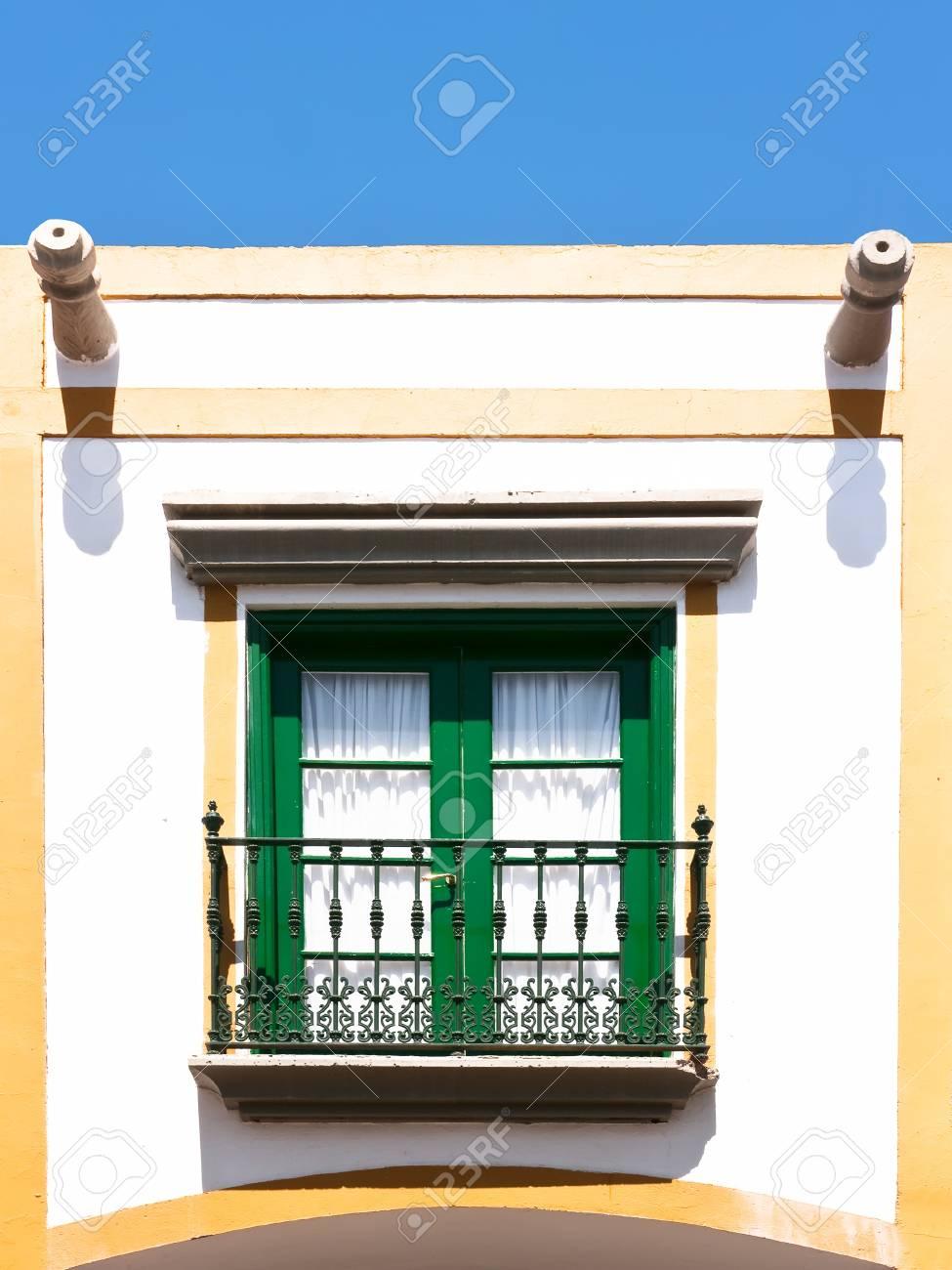 beautiful window at a tourist resort Stock Photo - 17980544