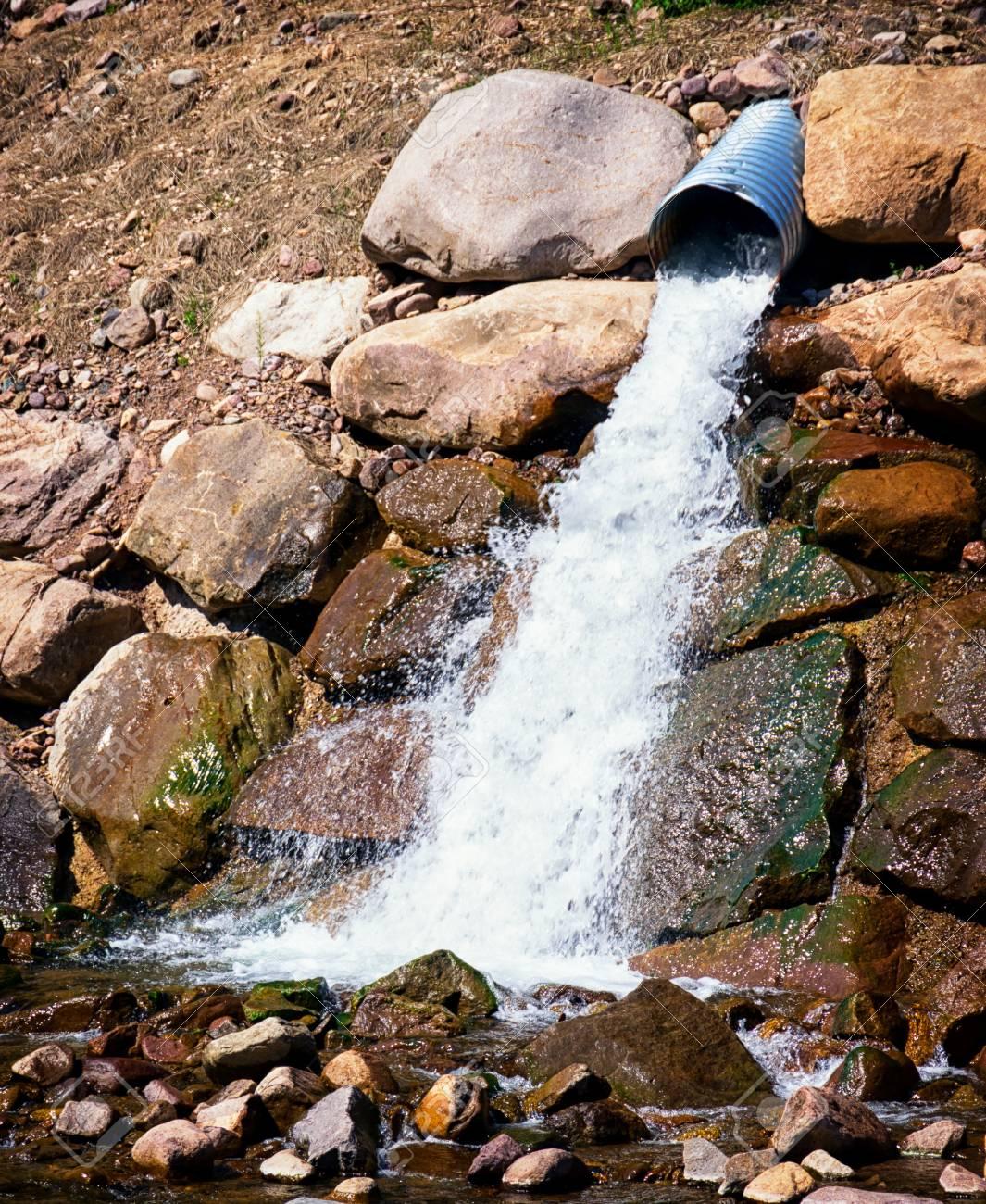 water pump at a river Stock Photo - 20450891