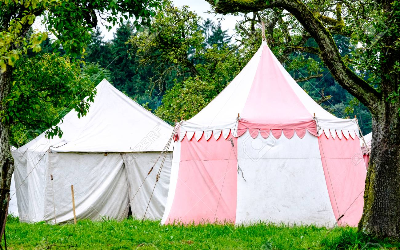 old tents at a festival Stock Photo - 73848868 & Old Tents At A Festival Stock Photo Picture And Royalty Free ...