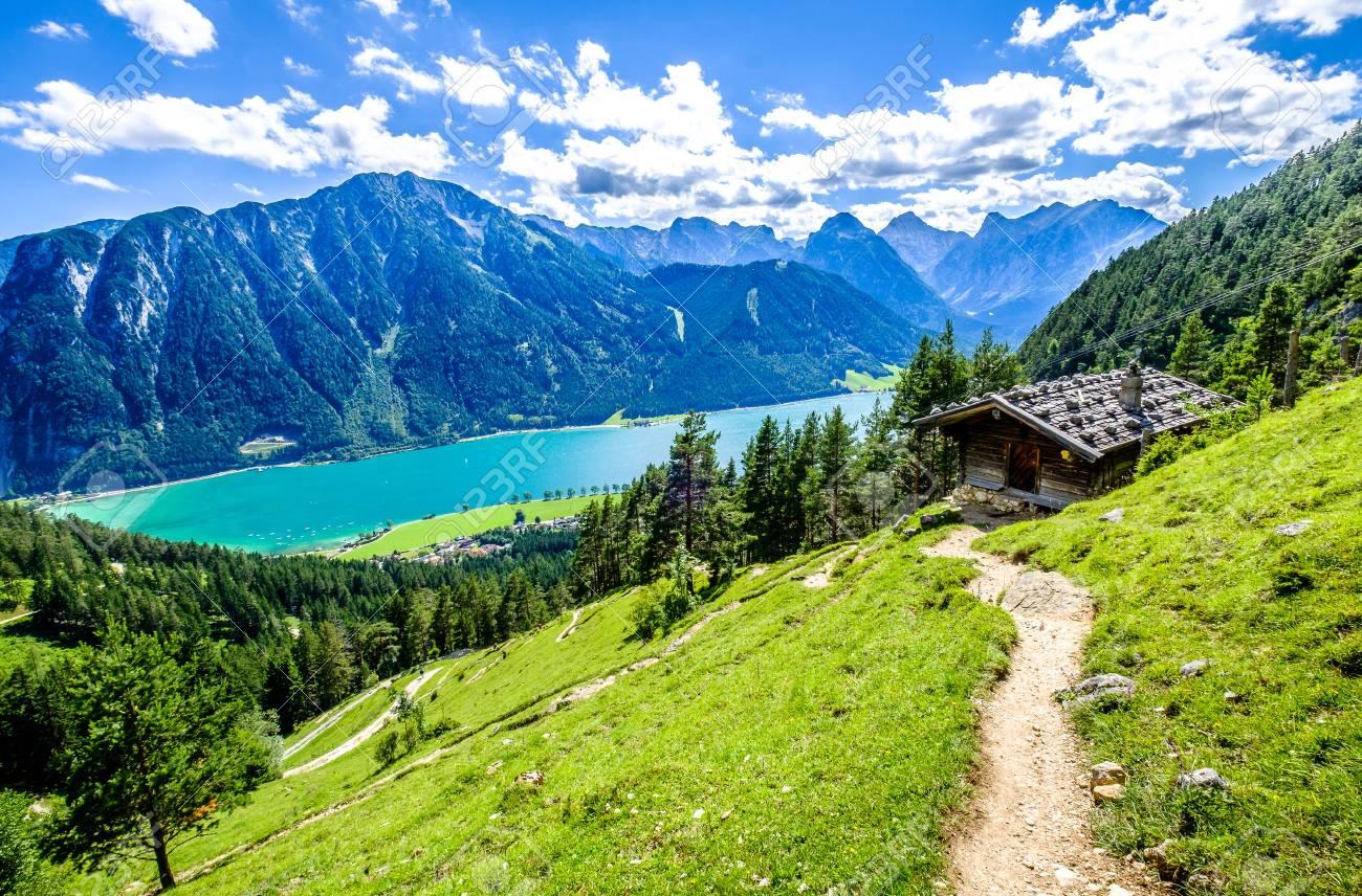 achensee lake in austria - pertisau - 83758278