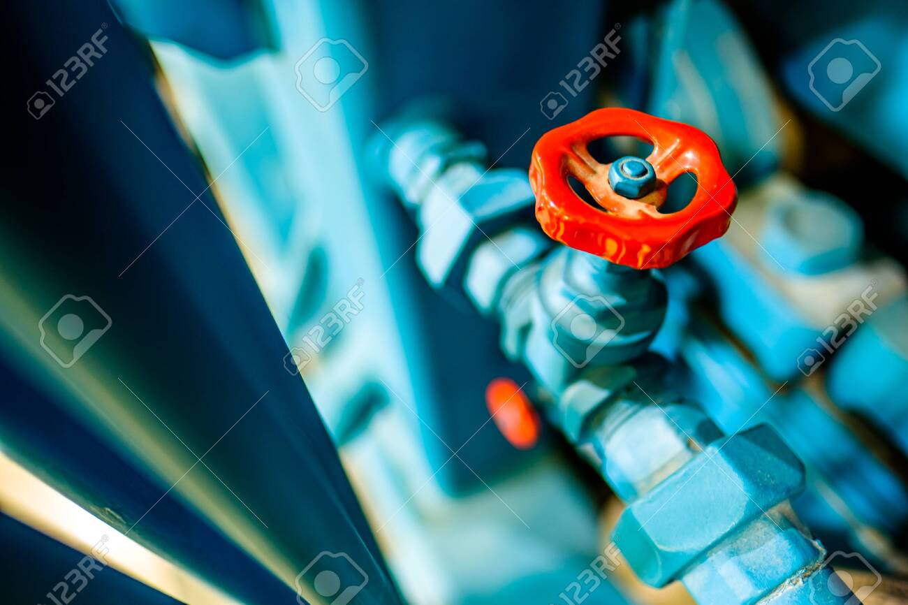 old valve and tube - closeup - 142945812