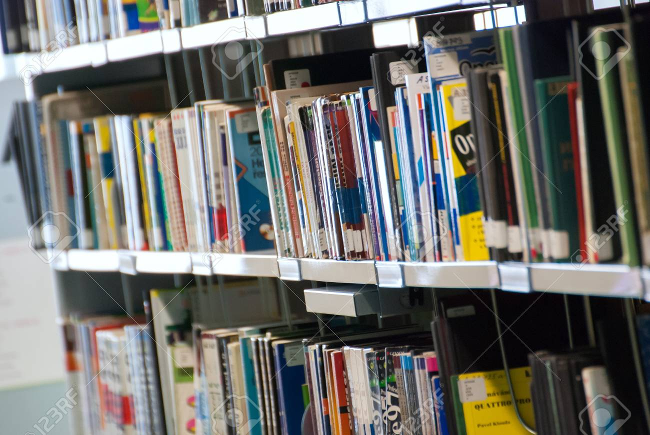 Bookshelves Full Of Books Stock Photo Picture And Royalty Free