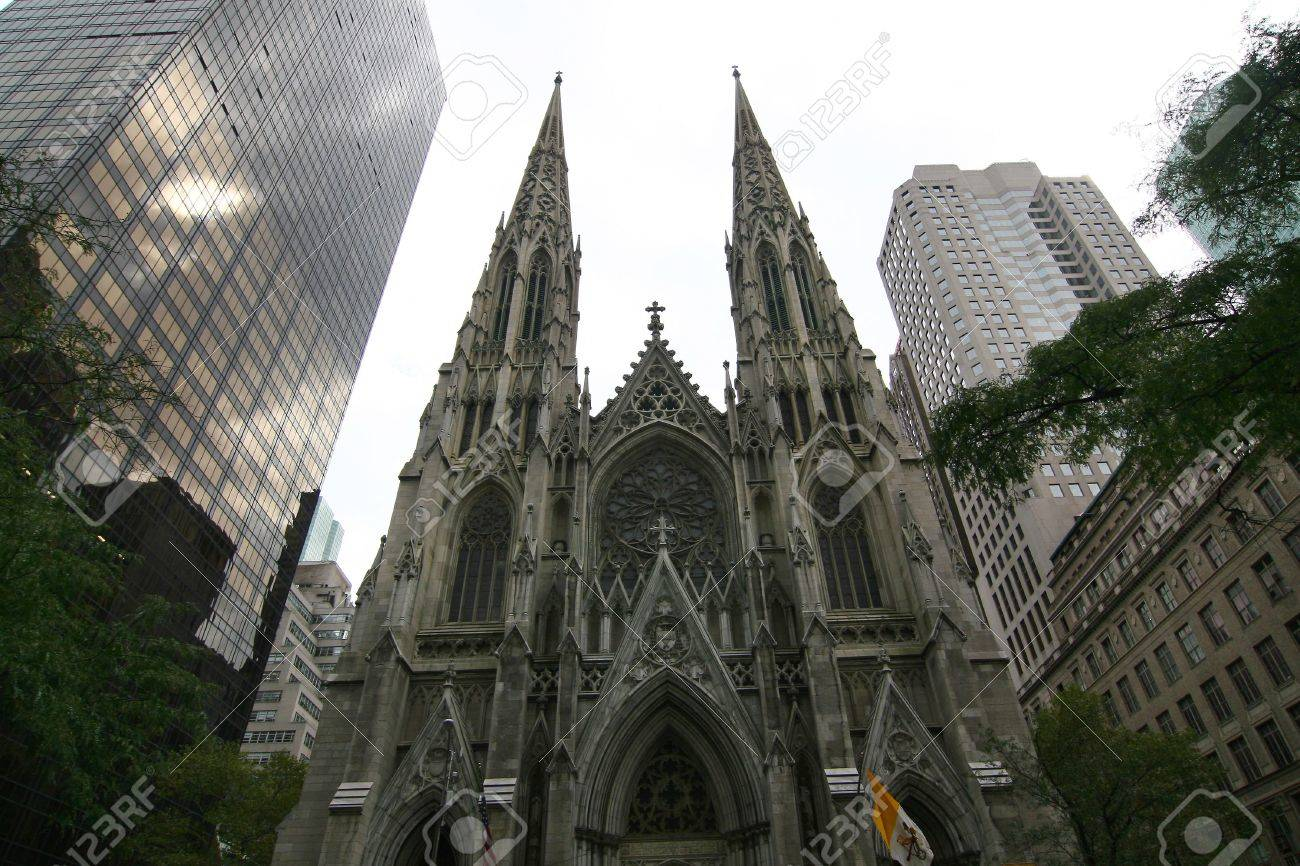 st patrick cathedral nyc stock photo picture and royalty free