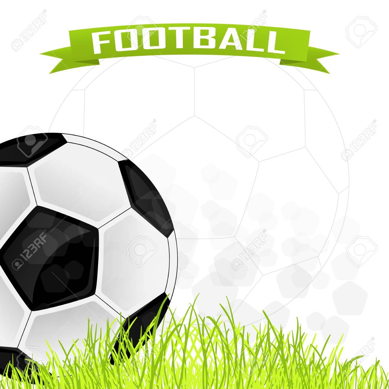 Vector De Fondo Para Las Tarjetas De Fútbol Ilustraciones ...
