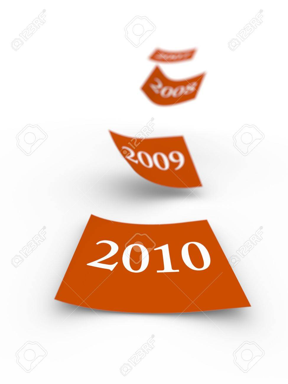 The years are flying away.Computer generated concept. Stock Photo - 5855943