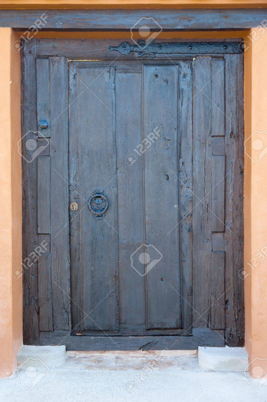 High resolution image of an old wooden door. Stock Photo - 9310720