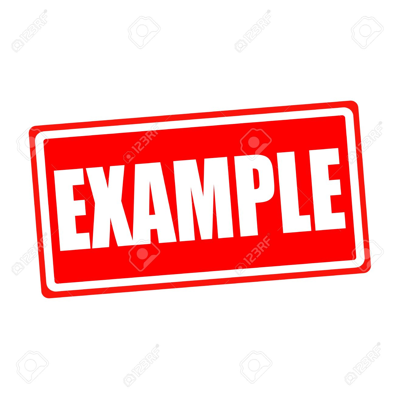 example white stamp text on red backgroud stock photo picture and