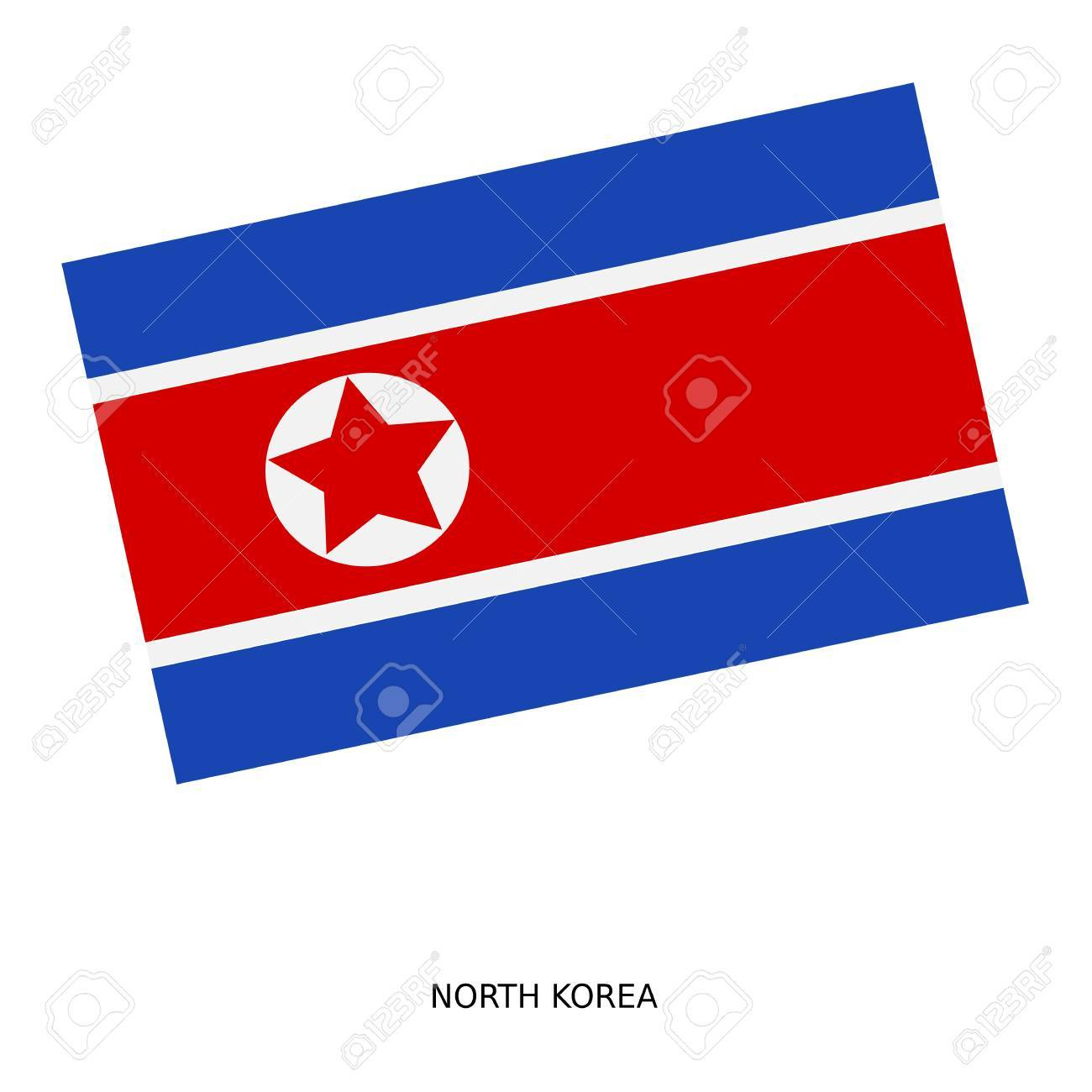 National Flag Of North Korea Stock Photo Picture And Royalty Free