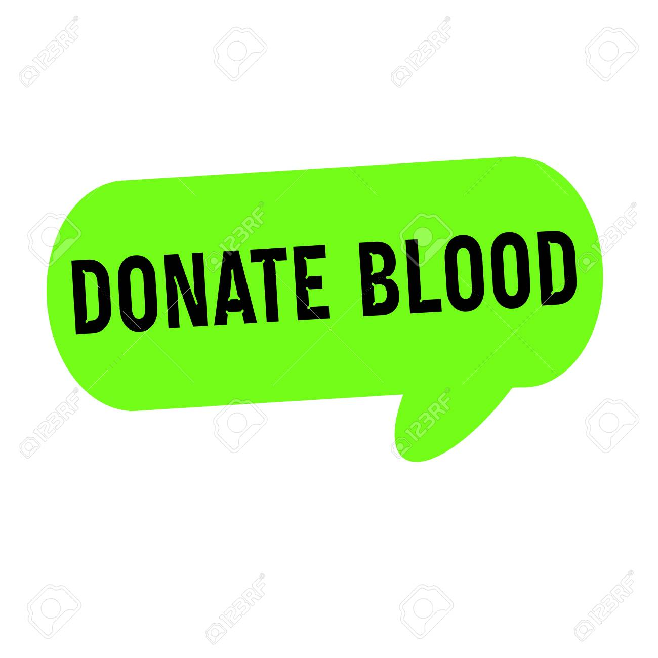speech about donating blood
