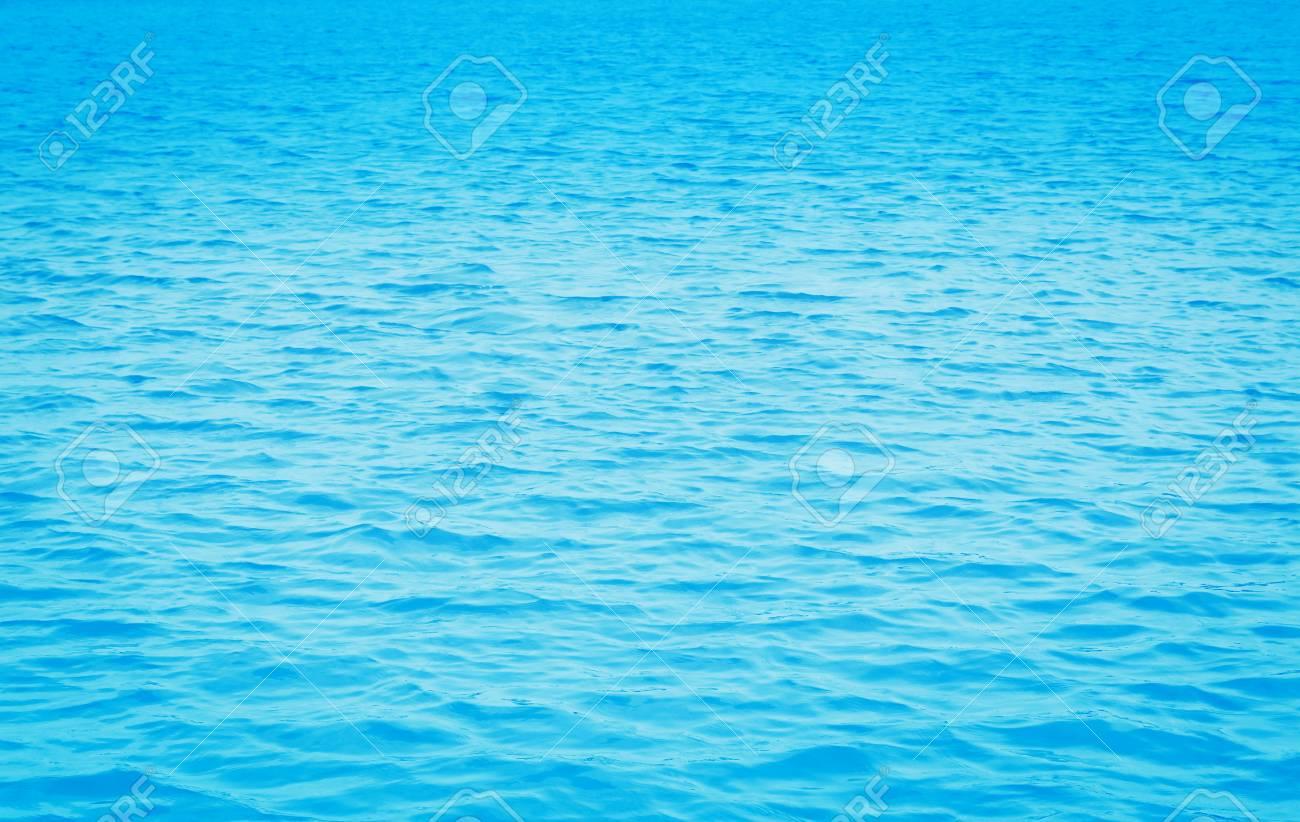 Blue Sea Water Texture Relax Narure Peaceful Wallpaper Desktop Background Stock Photo