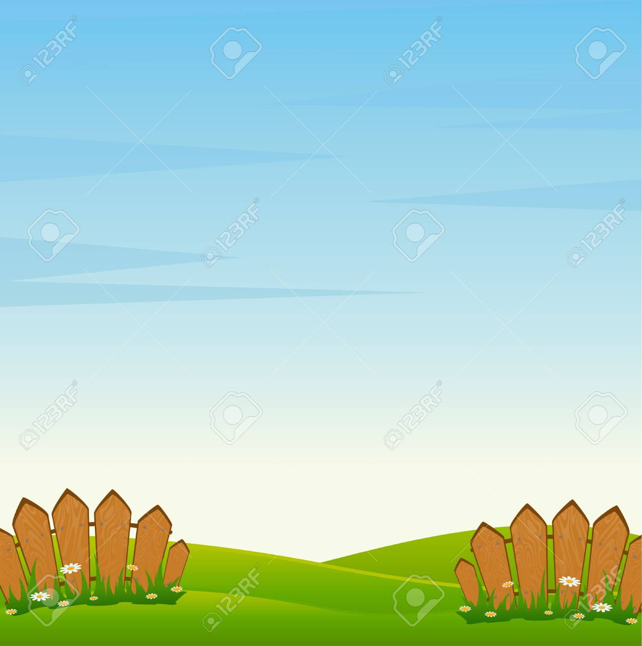 Country Fence Stock Photo - 7414786