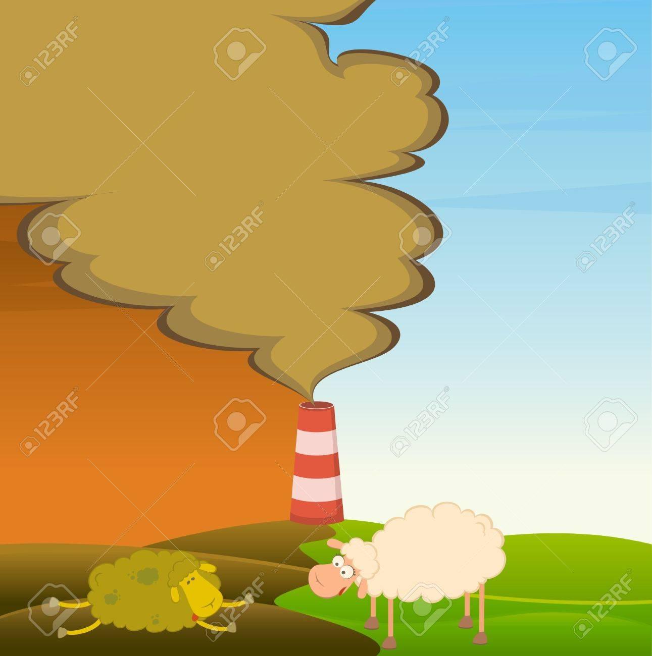 healthy sheep looks Stock Photo - 7466789