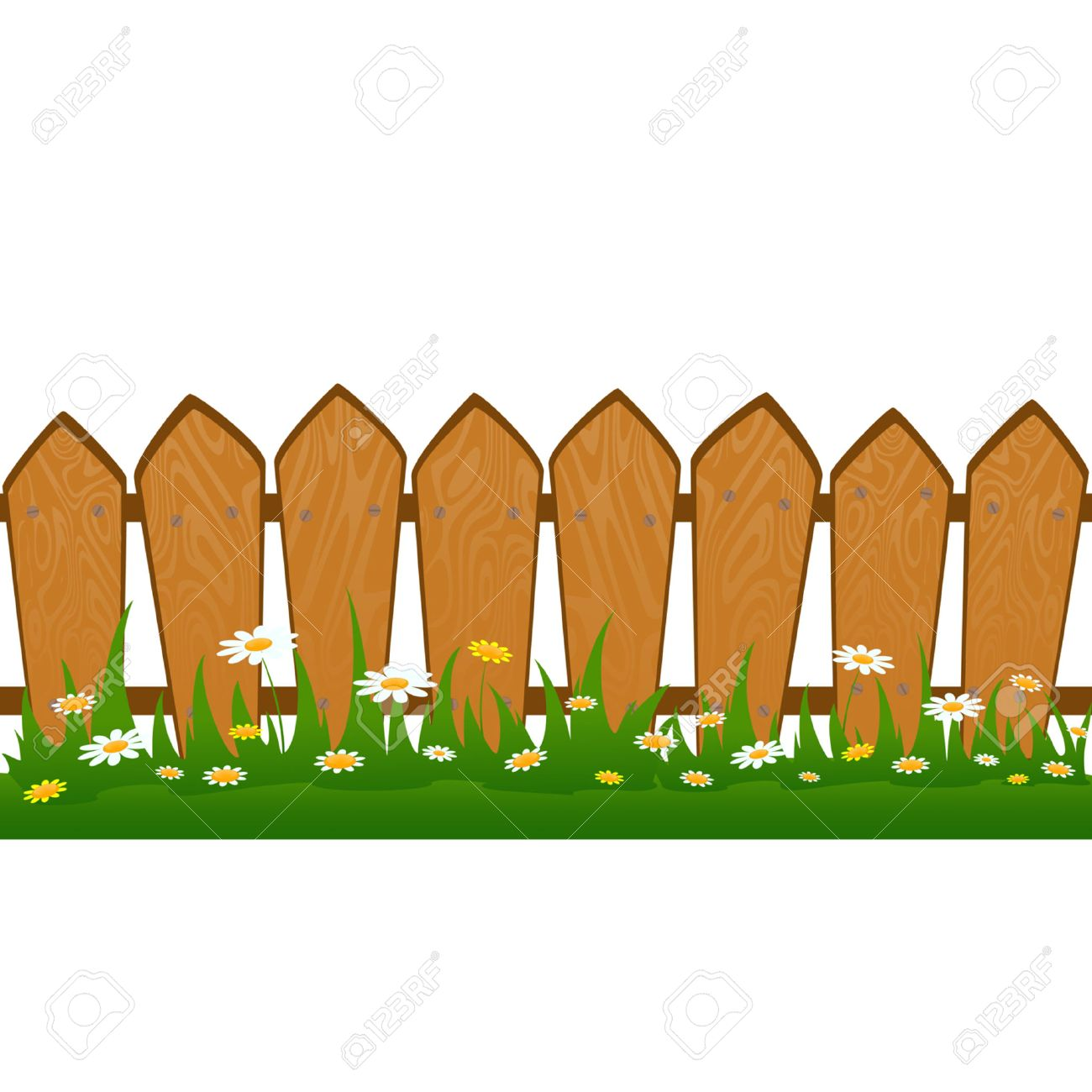 Country Fence Stock Vector - 8133926