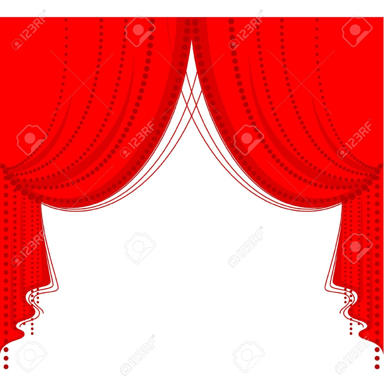 Blue stage curtains blue stage curtain vector free vector in - Theater Curtain Vector Red Curtain