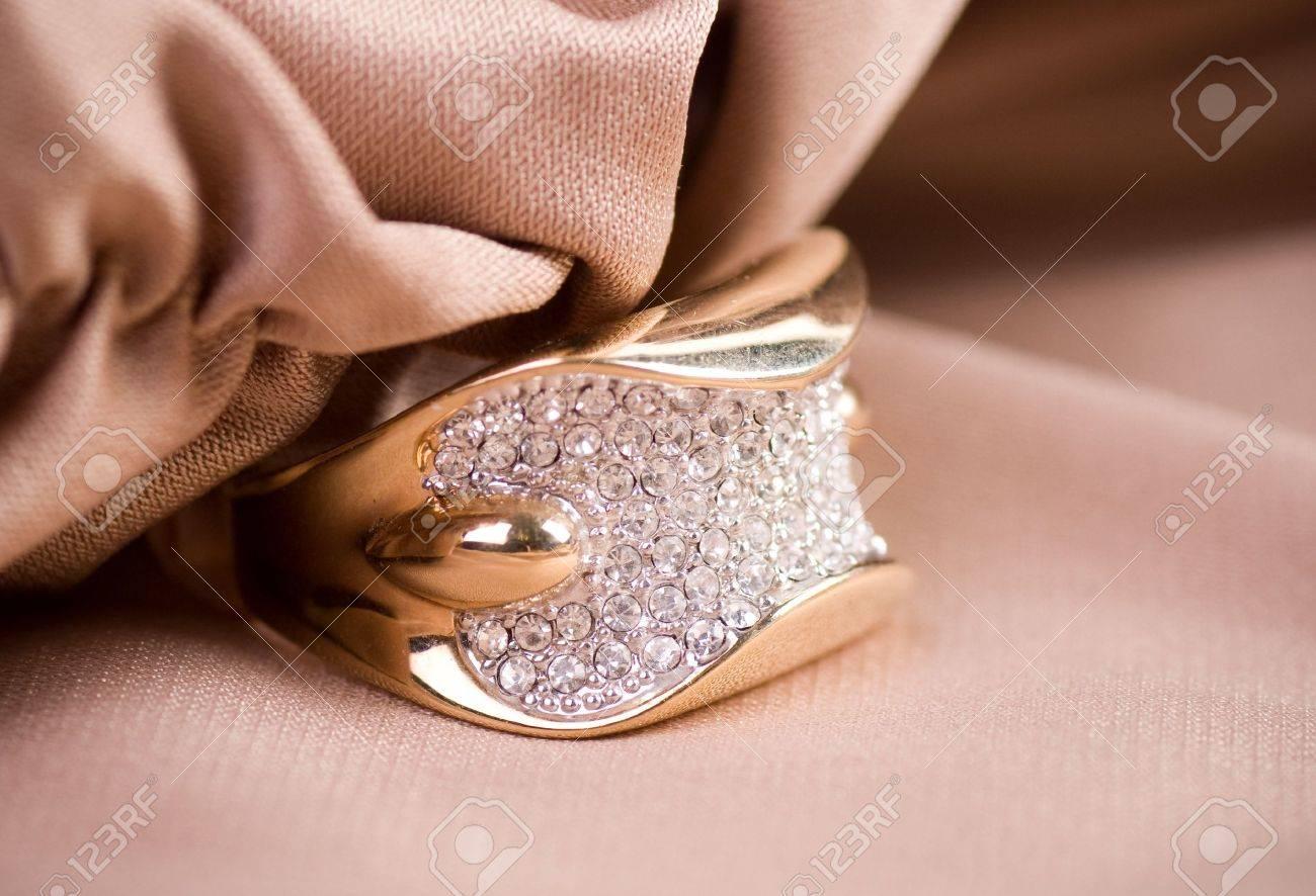 Beautiful jewelry on background Stock Photo - 16226817