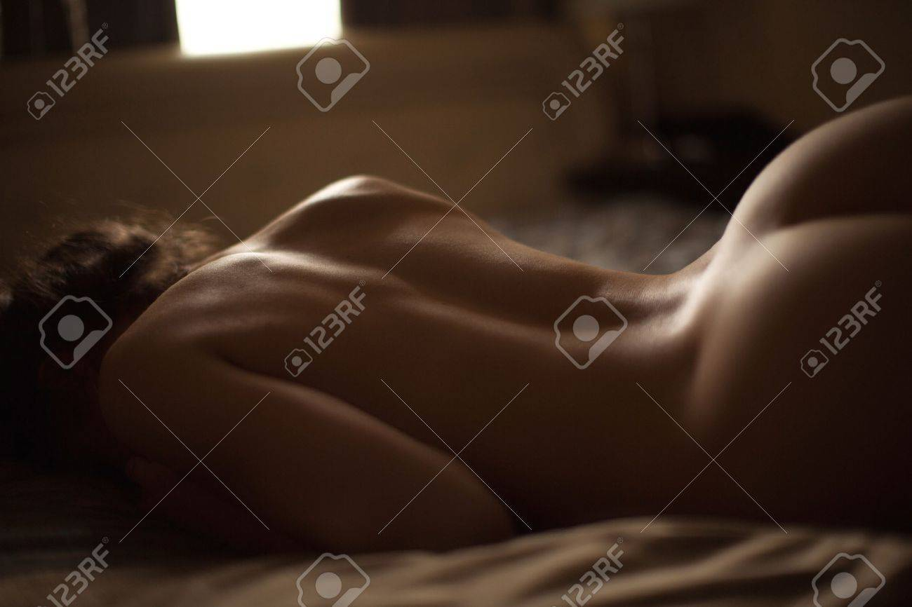 Sexy beautiful bare back Banque d'images - 38577595