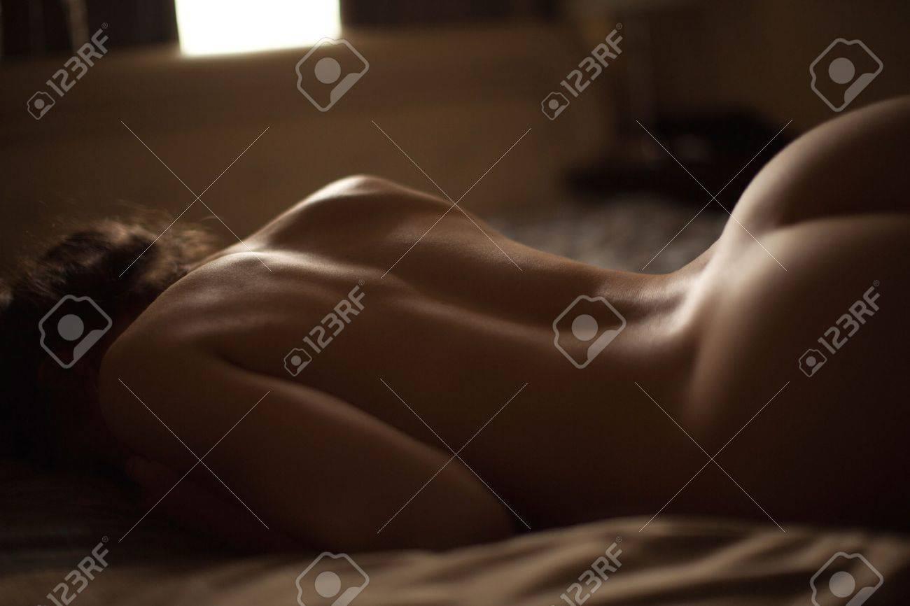 Sexy belle dos nu Banque d'images - 38577595