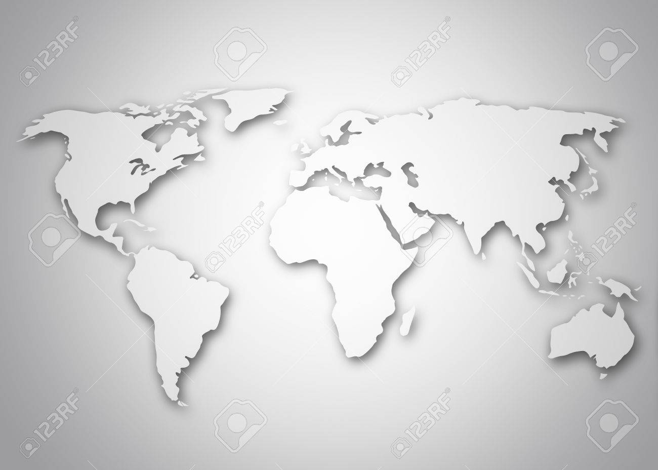Image of a stylized world map stock photo picture and royalty image of a stylized world map stock photo 17314664 sciox Image collections