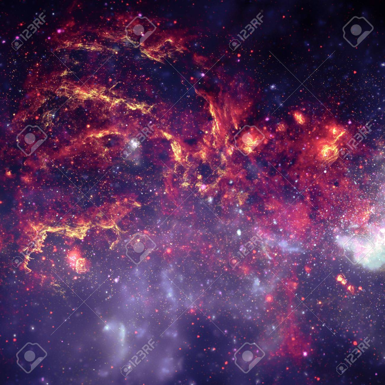 Star field in  deep space many light years far from the Earth. Stock Photo - 18144120