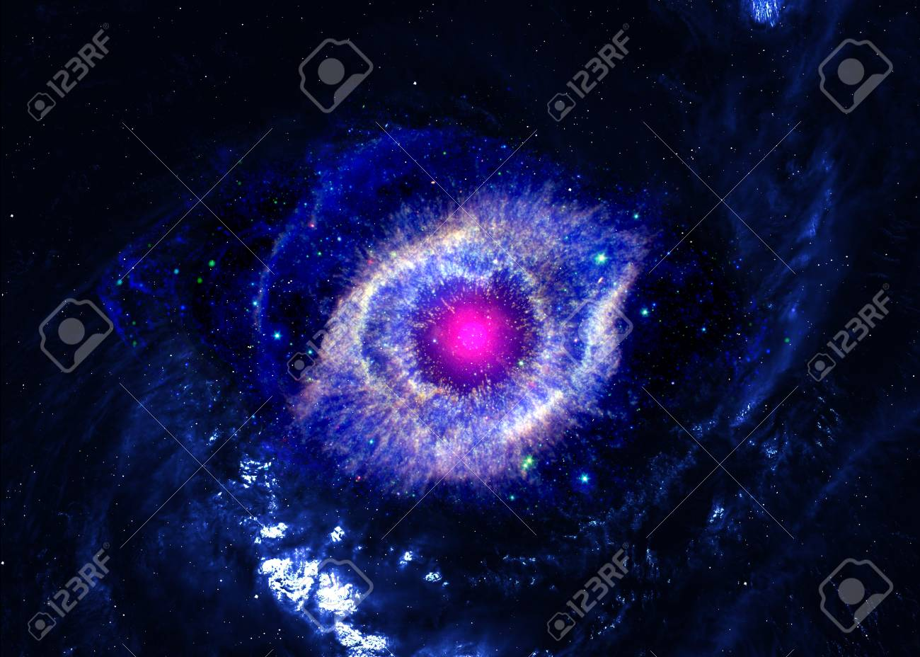 Star field in  deep space many light years far from the Earth Stock Photo - 18144030