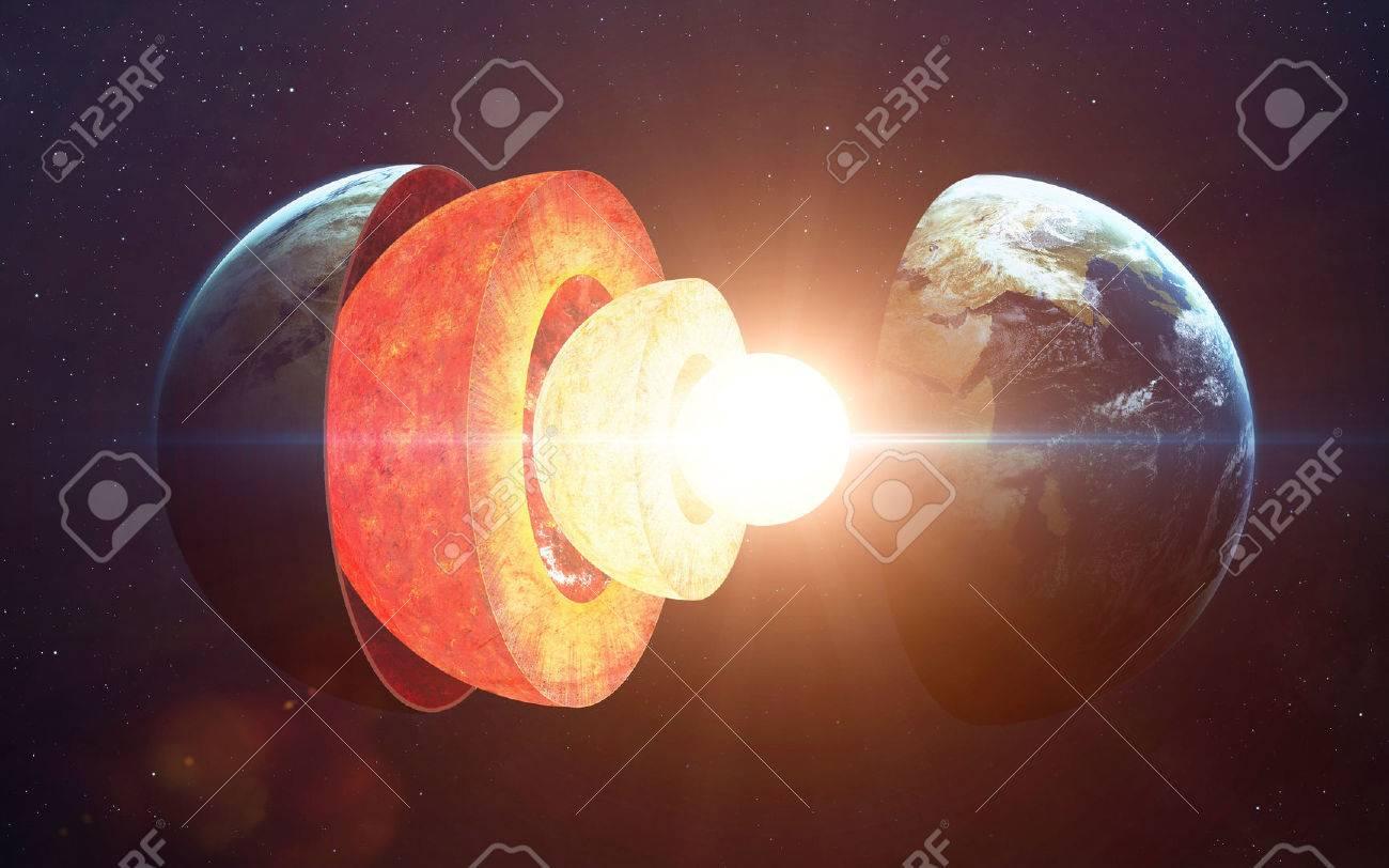 Earth core structure - 52306440