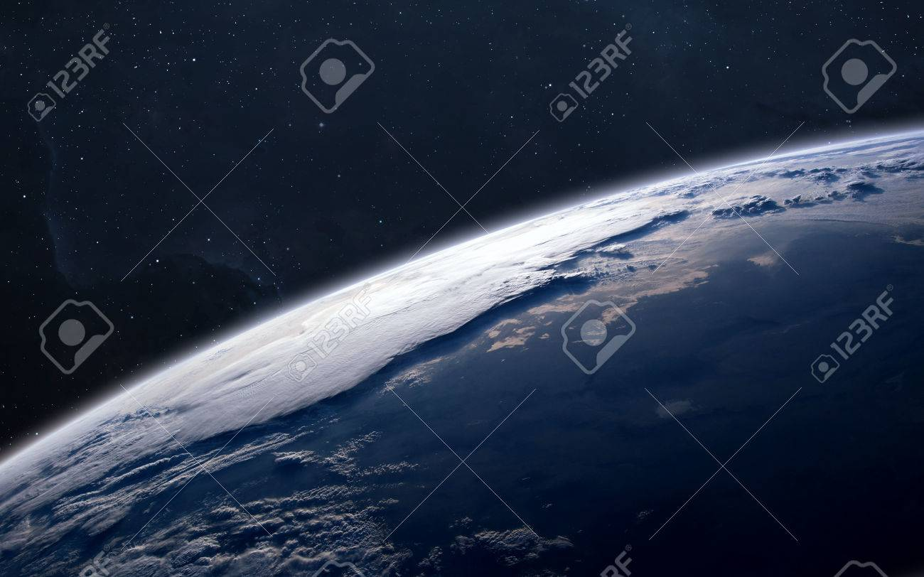Earth - High resolution images presents planets of the solar system. - 54300707