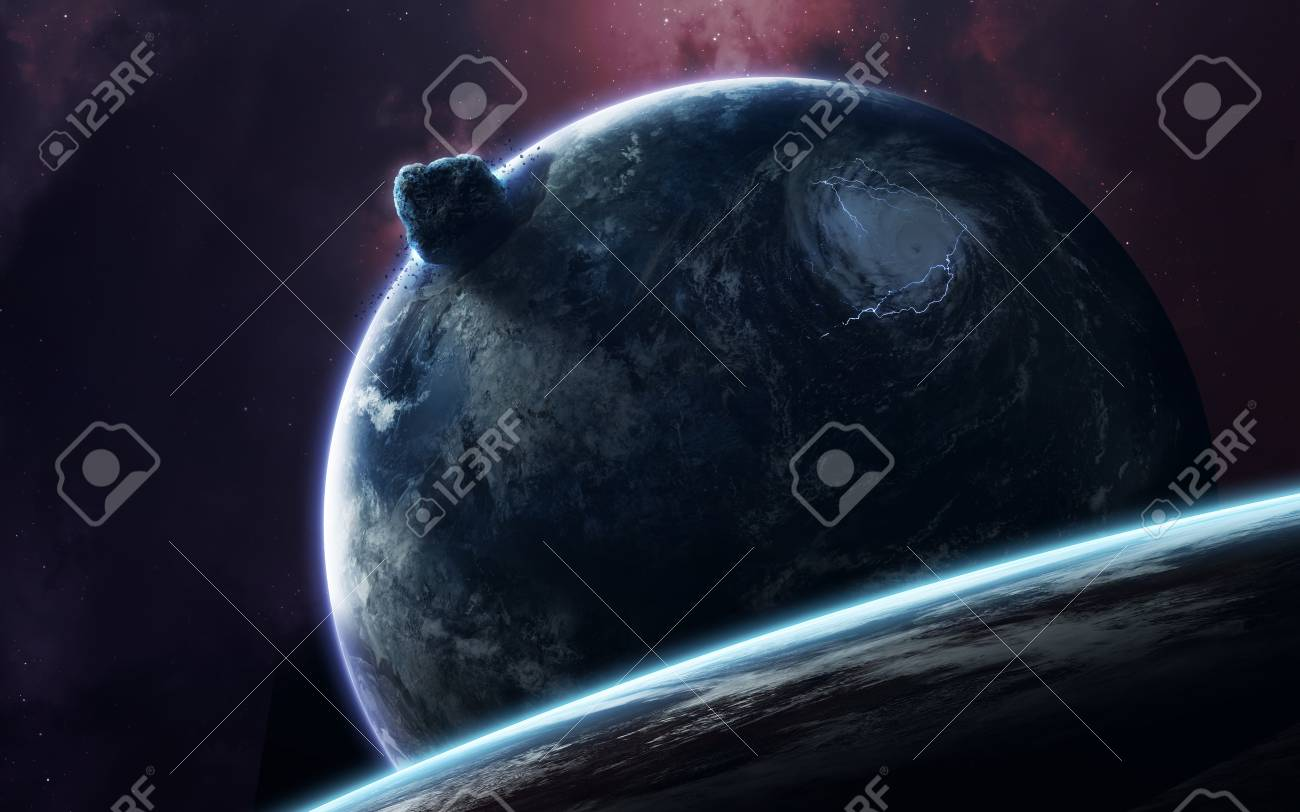 Space Art Incredibly Beautiful Science Fiction Wallpaper Endless Universe Elements Of This Image