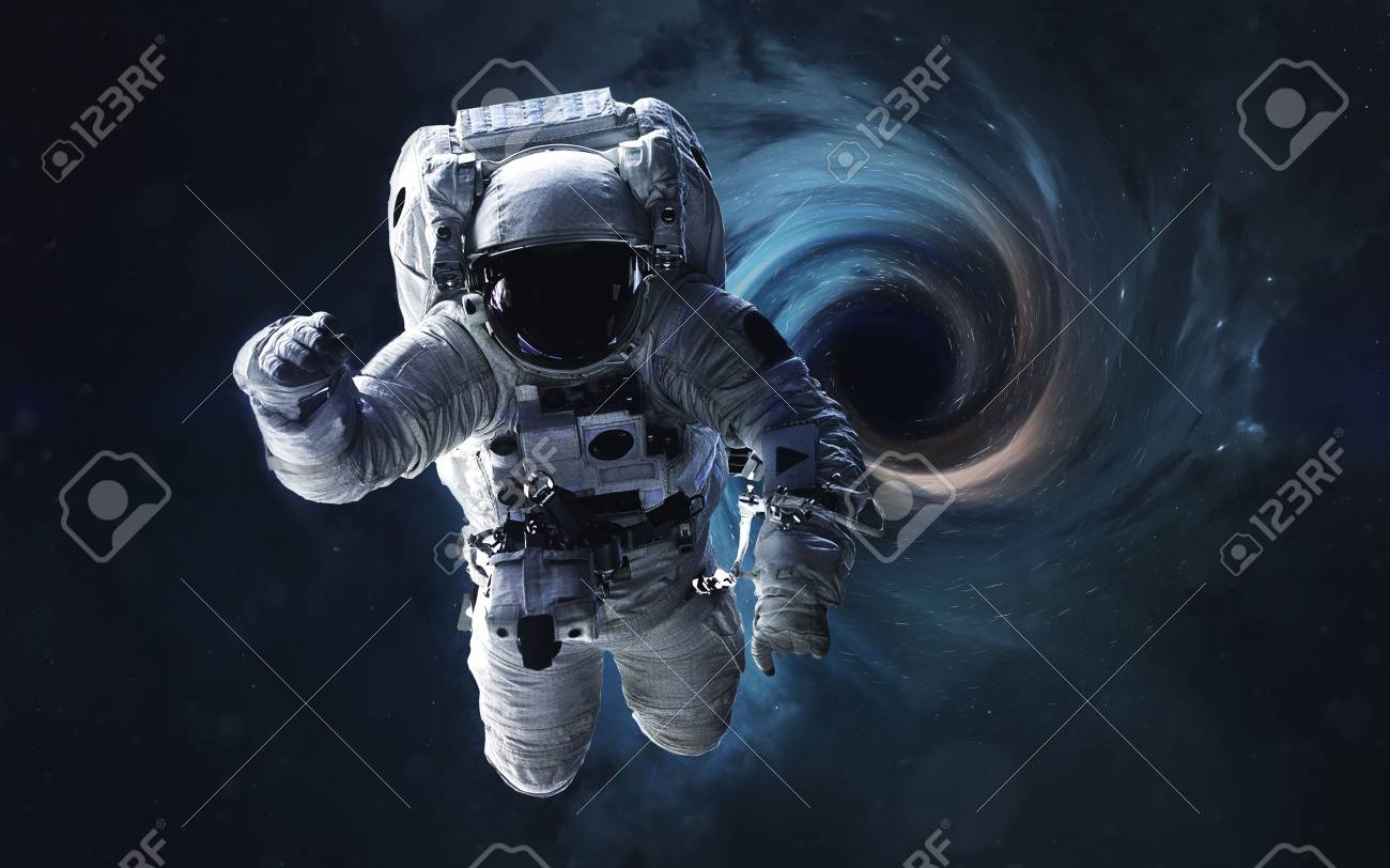Black Hole Abstract Space Wallpaper Universe Filled With Stars Stock Photo Picture And Royalty Free Image Image 88610098