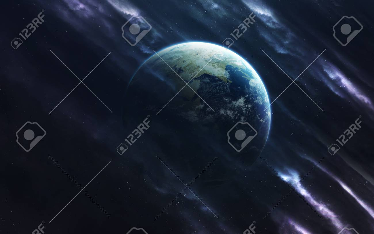Earth Deep Space Image Science Fiction Fantasy In High Resolution