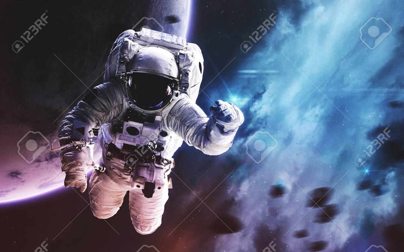 Deep space image, science fiction fantasy in high resolution ideal for wallpaper and
