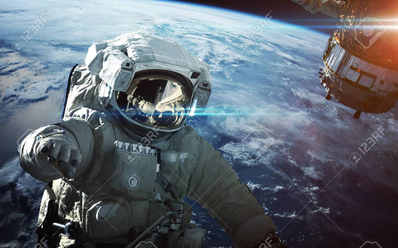 Astronaut in outer space - 149627241