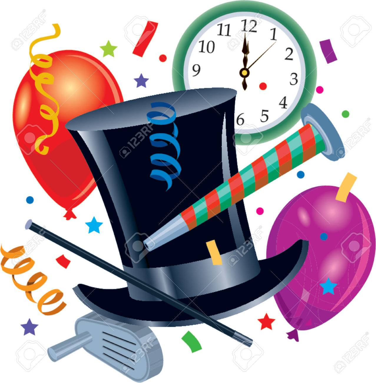 New Years Party Stock Vector - 712038