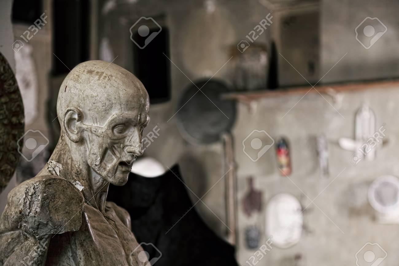 Statue in sculptor workshop closeup Stock Photo - 16469193