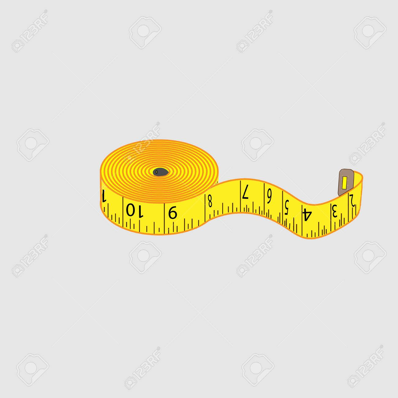 centimeter meter tailor royalty free cliparts vectors and stock