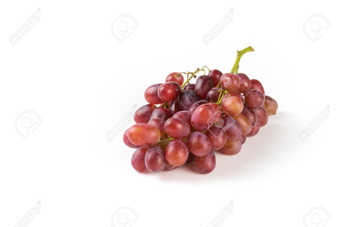 Purple Grapes, Fresh Colors And Bushy. With Space For Text And ...