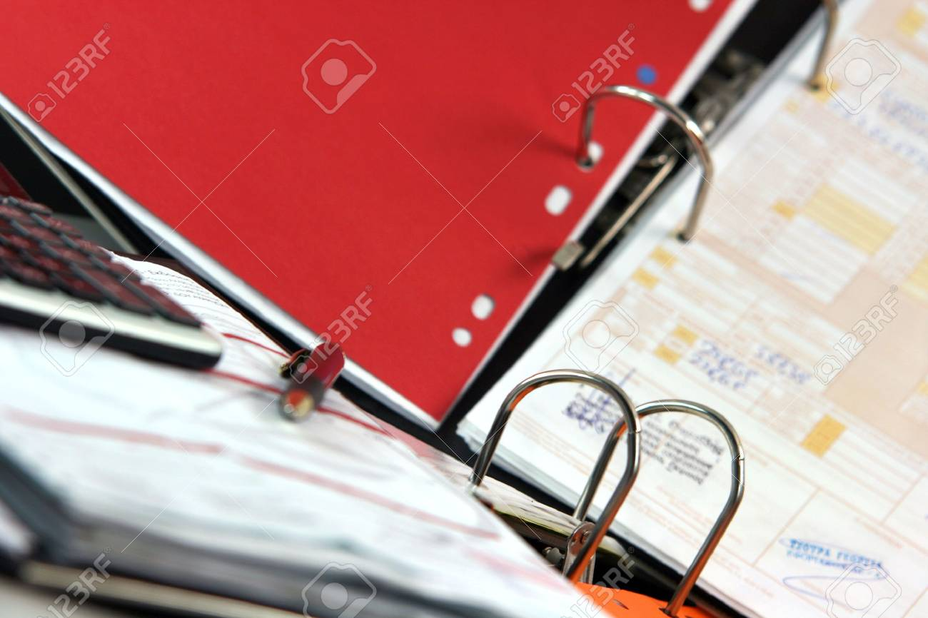 business concepts paper work in action accounting Stock Photo - 1961319