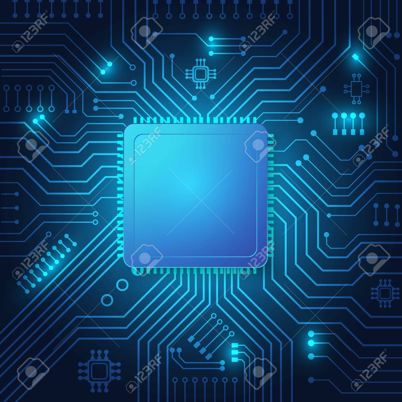 Circuit board technology background with hi-tech digital data connection system and computer electronic desing - 139204451