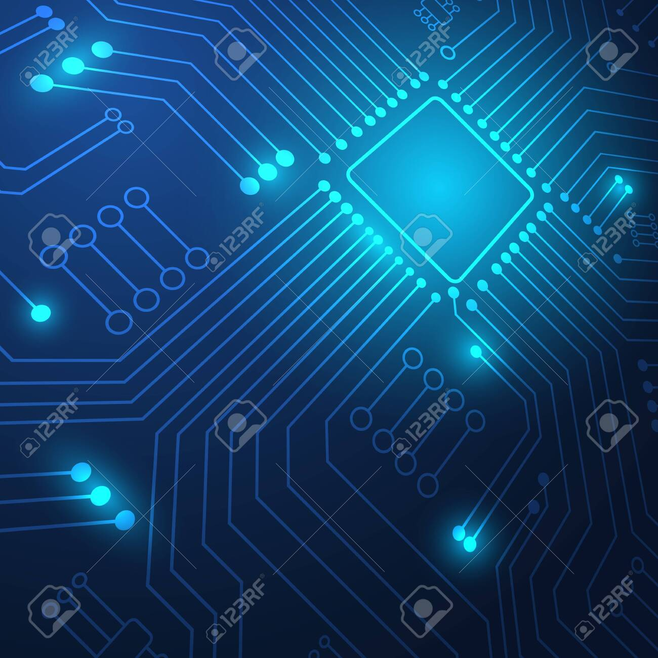 Circuit board technology background with hi-tech digital data connection system and computer electronic desing - 139204677