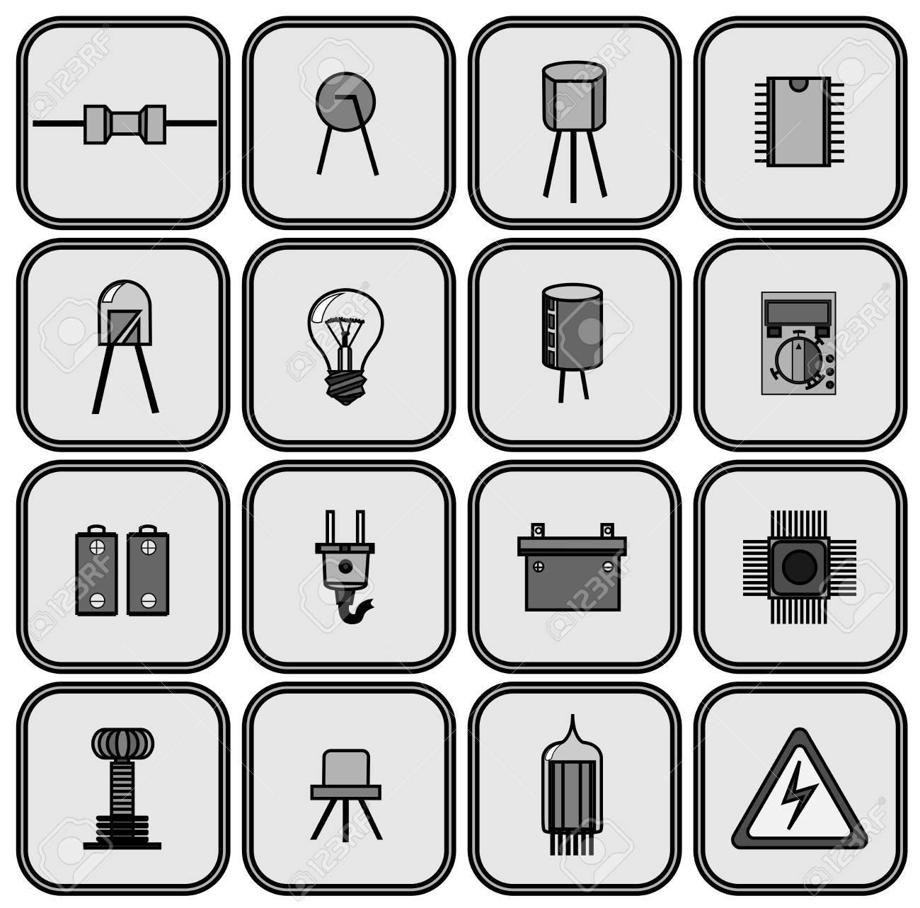Nett Liste Der Elektrischen Teile Zeitgenössisch - Elektrische ...