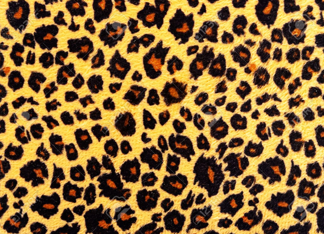 Closeup of leopard skin texture fur. Stock Photo - 14448429