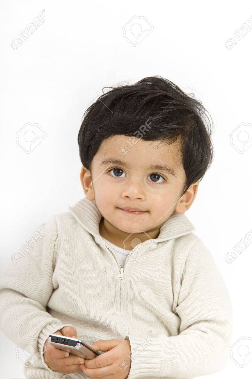 1 year old boy with indian origin stock photo picture and royalty