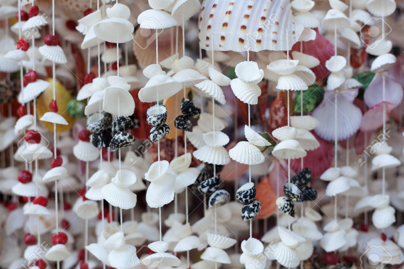 Handicrafts Produced By Sea Shells