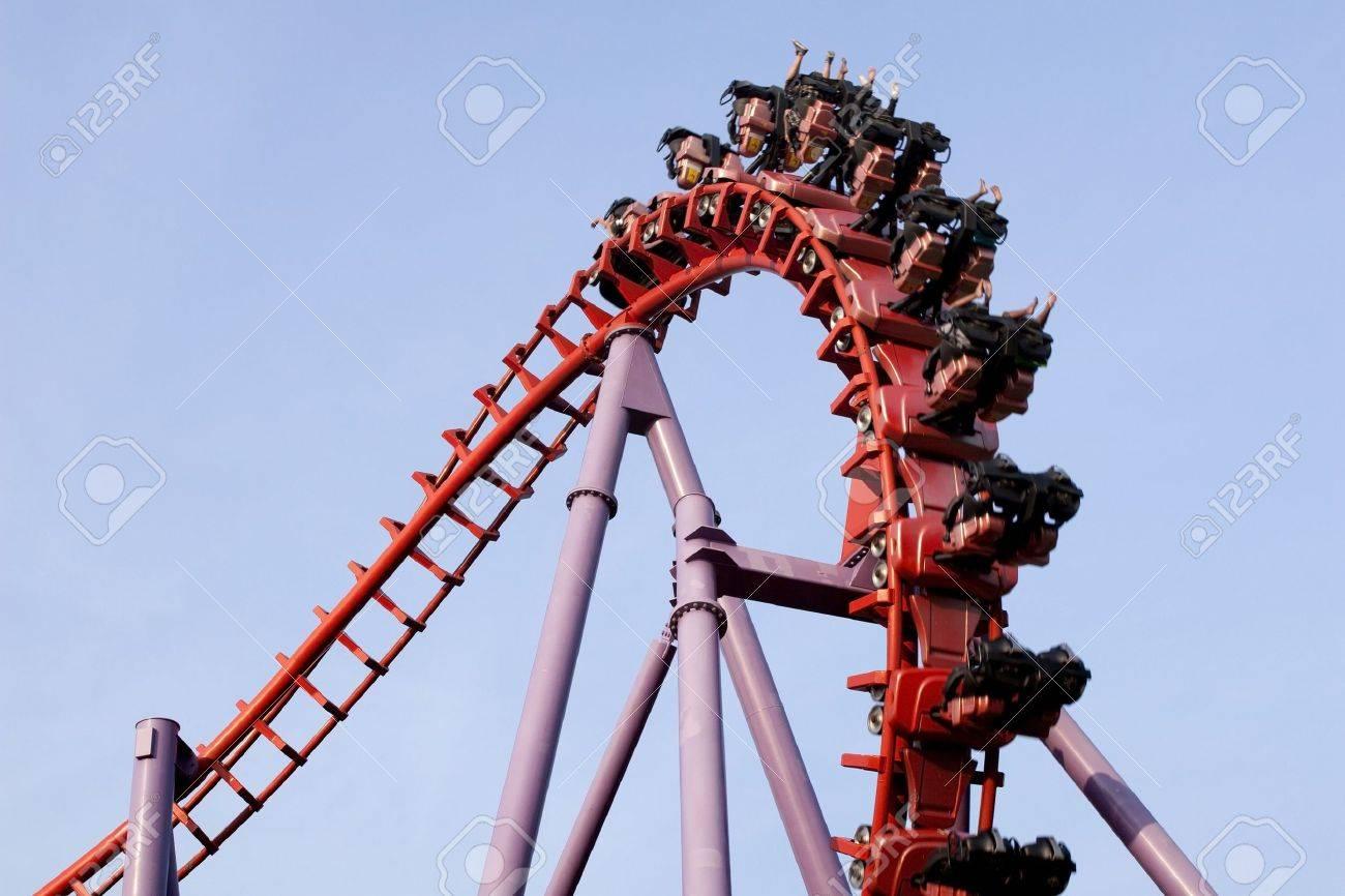 A roller coaster ride Stock Photo - 18246843
