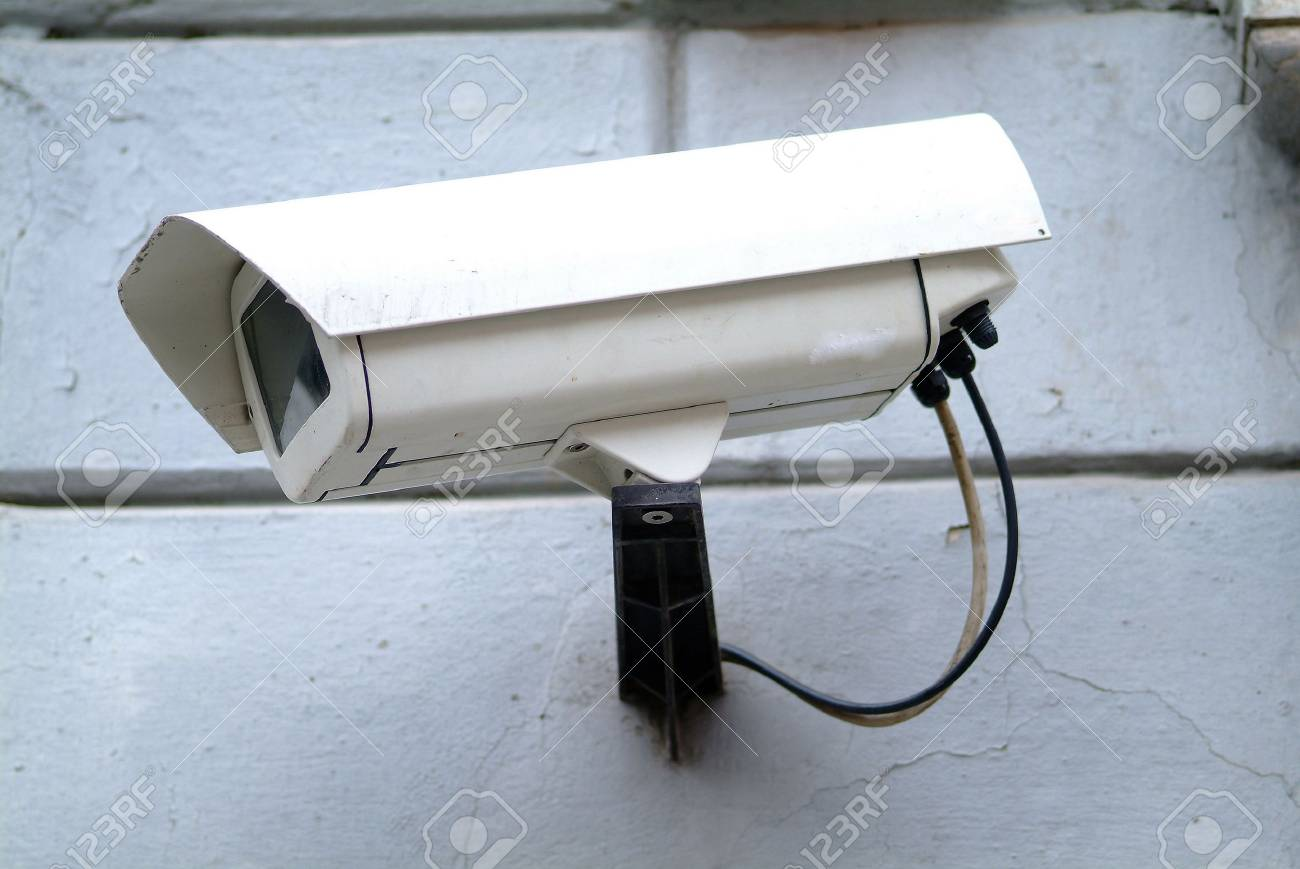 security camera Stock Photo - 679586