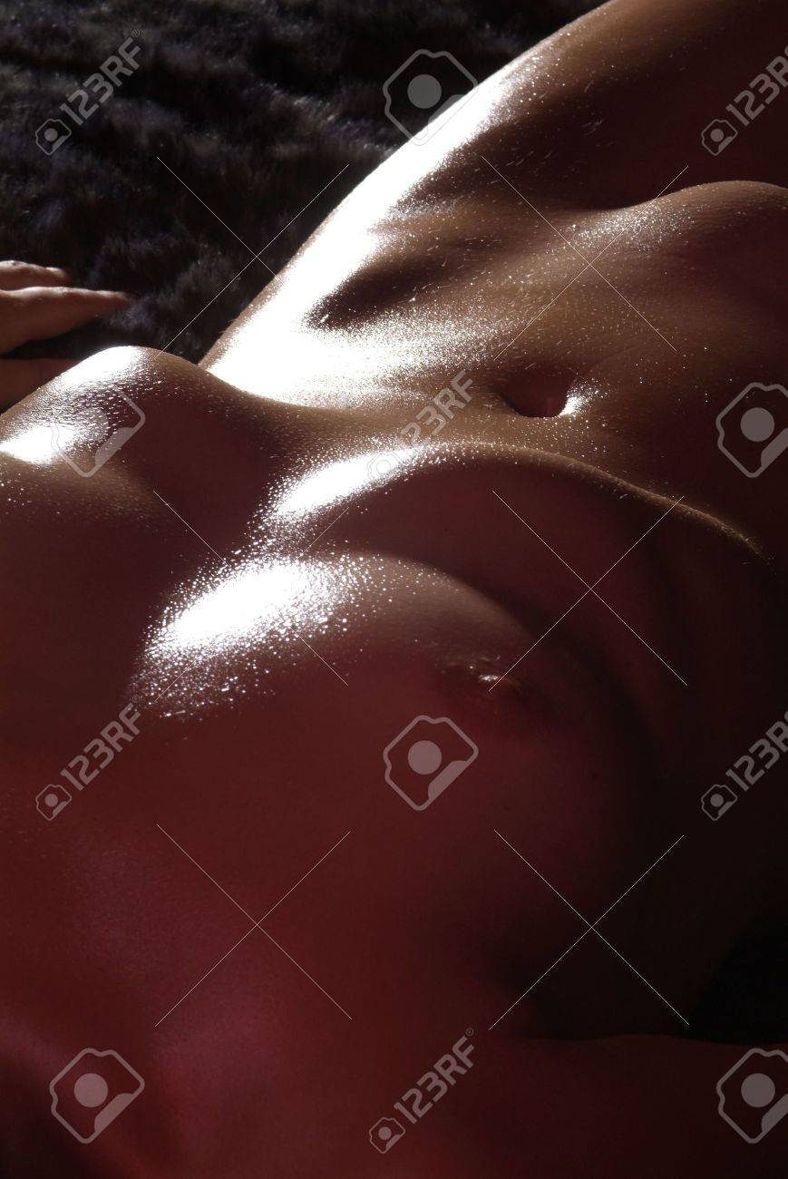 a cutout of a beautiful  and naked woman body Stock Photo - 2256278